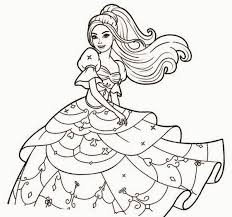 colour drawing free wallpaper barbie coloring drawing free