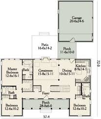 symmetrical house plans westfield 3490 3 bedrooms and 3 5 baths the house designers