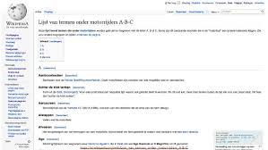 lijst van termen onder motorrijders m n o wikiwand wikipedia cursus 2 middelburg