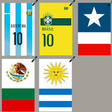 Argentina Flag Photo Argentina Brazil Chile Mexico Uruguay National Flag Towel Fast