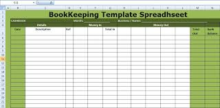 Small Business Bookkeeping Template Excel Small Business Bookkeeping Template Spreadsheettemple