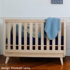 chambre bebe en bois le lit bébé vogue de zinezoé
