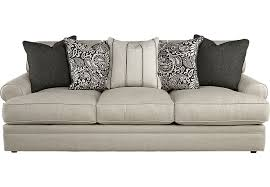 Rooms To Go Sleeper Loveseat Cindy Crawford Home Lincoln Square Beige Sofa Sofas Beige