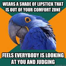 Lipstick Meme - meme every damn time i wear red lipstick rebrn com
