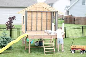 a handmade playhouse for the backyard u2013 the willow market
