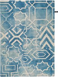 benuta tappeti tappeto di dip dye azzuro 120x170 cm tappeti foto idee