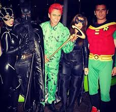 Riddler Halloween Costume Throwbackthursday Amazing Pics Celebrities Dressed