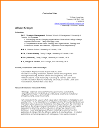 Free Chronological Resume Template 10 Curriculum Vitae Canada Format Free Functional Resume Download