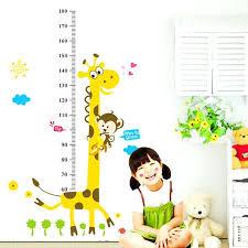 home decor kids kids room decal buy kids height chart wall sticker home decor kids