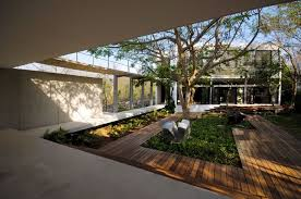 courtyard home designs luxury courtyard home designs with wooden floor nytexas