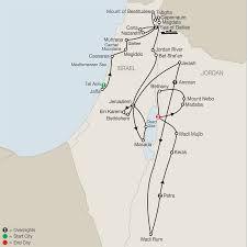 Jordan World Map by Israel U0026 Jordan Tours Globus Holy Land Tours