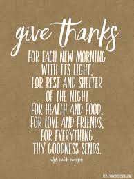 sweet blessings give thanks
