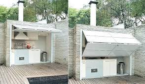 amenager une cuisine exterieure amenagement cuisine exterieure ou dun spa lounge salon cuisine e