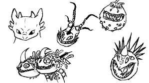 train dragon drawing dragons head colouring