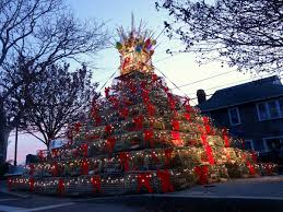 this lobster trap christmas tree is the most u201cnew england u201d holiday