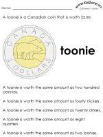 canadian money worksheets work and learning at home