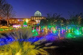 theme lighting gardenfest of lights at lewis ginter botanical garden