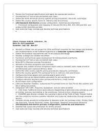 Edi Consultant Resume Edi Developer Cover Letter