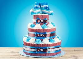 diper cake how to make baby shower cakes lovetoknow