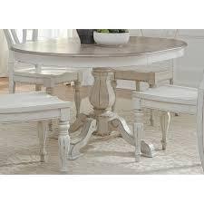 white pedestal side table liberty magnolia manor antique white wood pedestal table free