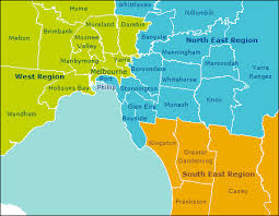 Councils Of Melbourne Map Reimbursements 1 8 Melbourne Water
