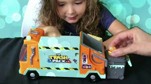 trash pack trashies glow dark garbage truck grossery