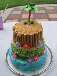 25 beach birthday cakes ideas beach themed
