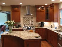 kitchen handsome kitchen design ideas with dark brown solid wood