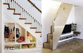 Creative Of Space Under Stairs Design Ideas  Staircase Storage - Interior design ideas for stairs