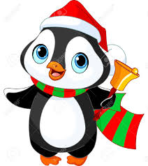 cute penguin christmas clipart clipart collection christmas