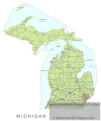 Mn Highway Map Michigan State Route Network Map Michigan Highways Map Cities Of