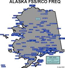 Cordova Alaska Map by Juneau Flight Service Station