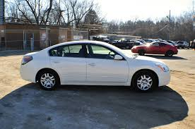 2010 nissan altima white used sedan sale