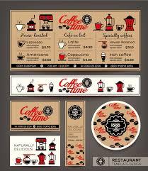 restaurant menu template vintage vector 05 vector cover free