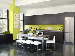 Green Kitchen Designs by Black White And Green Kitchen