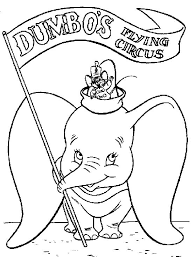 26 dumbo disney coloring pages images disney