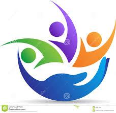 family caring logo stock vector illustration of 30451599