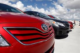 toyota car lot toyota exec camry will stay as us top selling car update