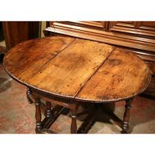 oval drop leaf table exceptional 18th century french carved walnut eight leg oval drop