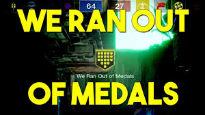 destiny 2 we ran out of medals destiny 2 hd 2017 new gameplay