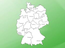 Map Og Germany by Map Of Germany Vector Art U0026 Graphics Freevector Com