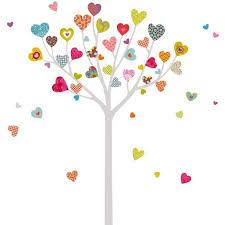 stickers arbre chambre enfant sticker chambre enfant arbre à cœur série golo