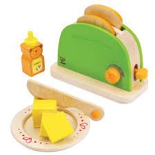toaster kinderküche hape pop up toaster e3105 für die spielküche pirum holzspielzeuge