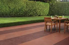 Dyed Concrete Patio by Customize Concrete Patios With Color