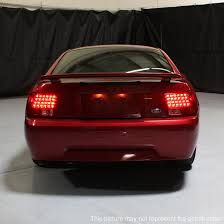 mustang led tail lights 99 04 ford mustang euro style led tail lights smoked 111 fm99 led