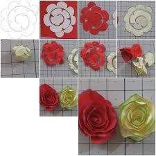 paper roses how to make simple paper roses flowers step by step diy tutorial