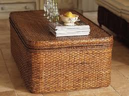 Rattan Coffee Table Rectangle Rattan Coffee Table With Storage Coffee Tables
