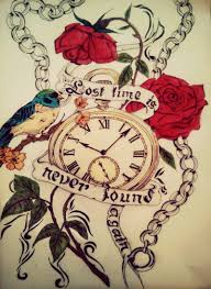 time tattoos designs more information