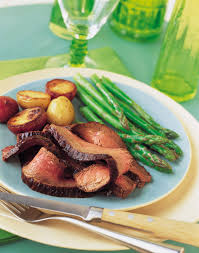 bureau steunk chipotle marinated beef flank steak via farm bureau flavor