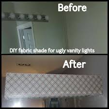 Do You Have One Of These Ugly Hollywood Style Lights In Your - Bathroom vanity light with shades